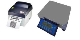 SWS-PCS-60, 60 lb  Price Computing Scale-lbs,kgs,ozs w/Thermal Barcode P... - $544.49