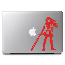 """Multiple Color Fairy Tail Erza Scarlett Decal Sticker for 13"""" 15"""" Apple Macbook - $8.71+"""