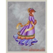 Winter Elegance cross stitch chart Cross Stitching Art - $13.50