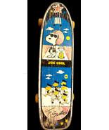 "Vintage Snoopy & Woodstock Joe Cool & ""The Scooters"" Nash Skateboard Pea... - $17.50"