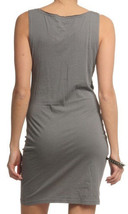 Bench UK Black Grey Station Beach Casual Fitted Cowl Neck Dress BLSA1318 NWT image 2