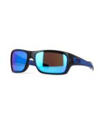 Oakley Sunglasses Turbine OO9263-05 Black Ink/Sapphire Iridium Lens - $108.46