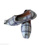 Women Shoes Indian Handmade Leather Flip-Flops Khussa Mojari Flat US 6.5 - $24.99