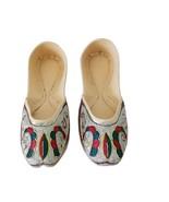 Women Shoes Indian Handmade Leather Flip-Flops Maroon Traditional Mojari... - $29.99