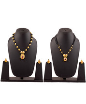 Womens Trendz Combo Pack of Two Traditional, Ethnic and Antique 24K Gold Plated  - $48.00
