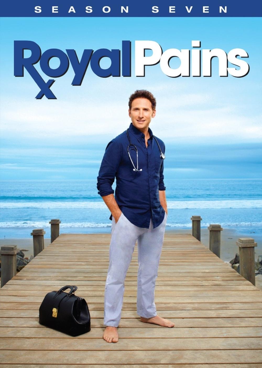 Royal pains season seven 7  dvd 2016 2 disc  concierge doctors