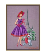 Victoria cross stitch chart Cross Stitching Art - $13.50