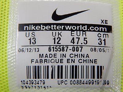 Nike Zoom Structure + 17 Men's Running Shoes Sz 13 M (D) EU 47.5 Gray 615587-007