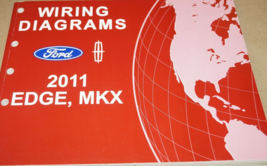 2011 Ford Edge & Lincoln MKX Wiring Electrical Diagram Manual OEM Factory  - $11.14