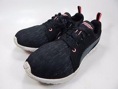 Puma Carson Women's Running Shoes Size US 8.5 M (B) EU 39 Black Pink