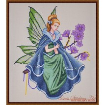 Twilight Fairy cross stitch chart Cross Stitching Art - $13.50