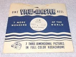 Vintage Sawyer's View Master Reel Little Black Sambo with Story Booklet Ft8 - $10.00