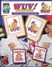 WUV! Buddies Room Signs True Colors Cross Stitch Pattern 30 Days to Pay! - $2.67