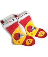 Iowa State Cyclones Christmas Pair of Stockings Fireplace Decor Holiday ... - $17.95