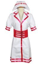 Super Sonico SONICOMI cosplay costume Nurse Uniform Custom made dress outfit - $39.99