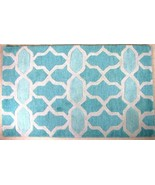 "New Loloi Rugs Weston Aqua  Turquoise 3'6"" X  5... - $109.00"