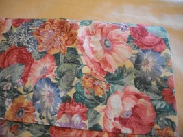 Pink & Blue Floral Fabric - $84.00
