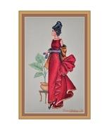 Tiffany cross stitch chart Cross Stitching Art - $13.50