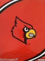 """Louisville Cardinals Ncaa Team 60"""" X 80"""" Twin Soft Northwest Throw Blanket - $49.95"""