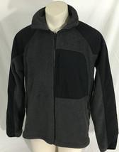 Columbia Sportswear Gray Fleece Jacket Interchange Full Zipper Men's Large - $39.99