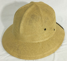 Dorfman Pacific Safari Wide Brim Hat Tan One Size Fits All Water Resistant - $39.99