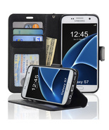 Samsung Galaxy S7 Wallet Folio Leather Life Pro... - $12.45