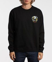 Obey AGUILA Mens Crew Neck Long Sleeve Sweatshirt  Medium Black NEW - $64.00