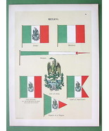 MEXICO Naval Flags Frigate Captain Vice Admiral... - $15.15