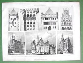 ARCHITECTURE Gemrnay Poland Wrolaw Marienburg -... - $11.78
