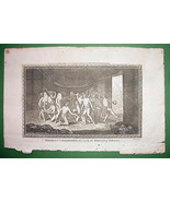 PANAMA Marriage Ceremony of Natives - 1783 Copp... - $16.81