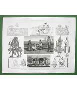 INDIA Gods Deities Brahma Vishnu Buddha Kama - ... - $16.81