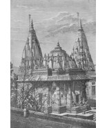 INDIA Mausoleum at Sindia !! Antique Print Engr... - $14.26