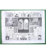 ITALY Rome Jerusalem Churches - SUPERB Antique ... - $11.09