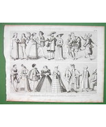 FASHION Renaissance Era Russia Spain Bride Troo... - $21.78