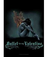 Bullet for My Valentine Textile Poster (Burning Wings) - $18.00