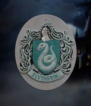 Official Harry Potter Hogwarts Slytherin Crest Resin 3D Magnet Film TV Gift - $14.70