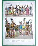 MEXICO Mayan Costume 16th C Kings Priests - COL... - $21.78