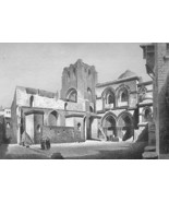 JERUSALEM Church of Holy Sepulcher - 1860s Anti... - $23.76