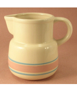 McCoy 32 Ounce Pitcher in the Pink and Blue Stripes Pattern - $20.00