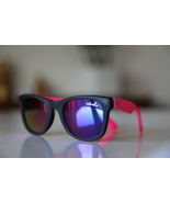 Classic Tortoise Sunglasses Black/ Neon Bright ... - $14.00