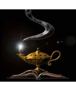 Genie Conjuring Spell Casting Pagan Ritual Your Wishes Manifest In Real ... - $129.99