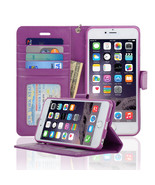 Navor Protective Flip Wallet Case for iPhone 6S... - $13.50