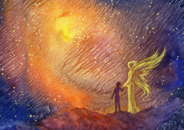 Seraphim Angel Binding Spirit Companion Experience Incredible Blessings OOAK - $79.99