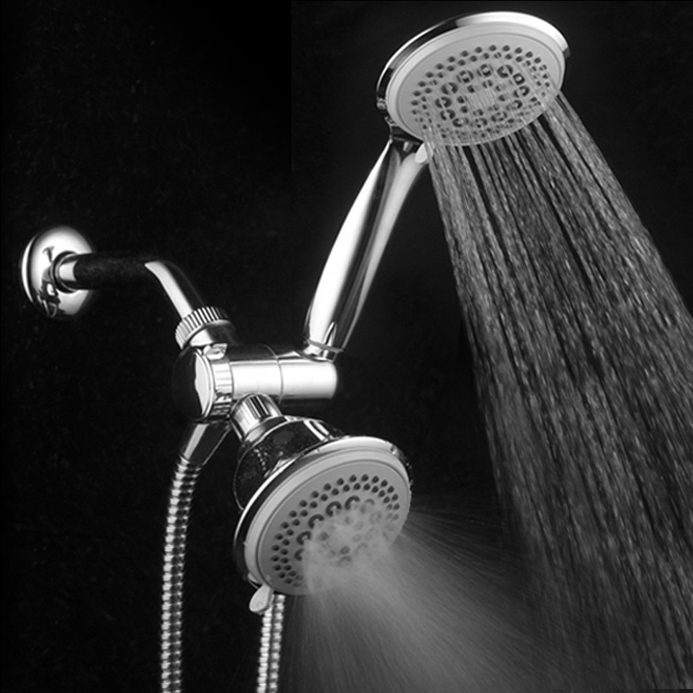 Primary image for HotelSpa Ultra-Luxury 3-Way 36-Setting Shower Head / Handheld Shower Head Combo