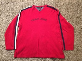 Men's Tommy Jeans Red/Blue/White Shirt, Size M - $24.99