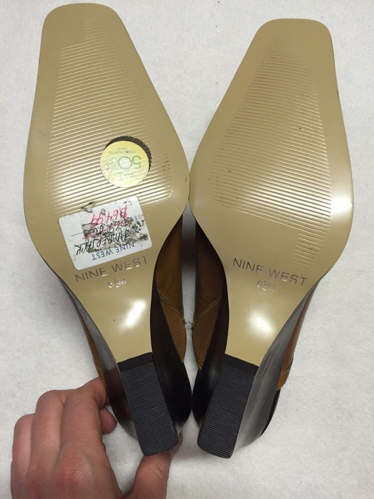 Women's Nine West Dress Shoes, New With Stickers, Slip-one