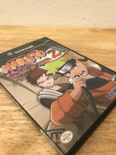 NARUTO CLASH OF NINJA 2 GAMECUBE GAME-IN MATCHING CASE image 4