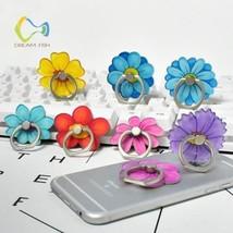 Pop Ring Holder for iphone x cartoon flower holder accessories For Samsu... - $10.99