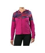 NIKE Womens Fanatics Zip Up Running Athletic Training Hoodie Pink Medium - $39.95