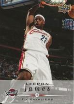 2009 Upper Deck Lebron James Cavaliers Set Time Warner Giveaway #1 VERY ... - $9.99